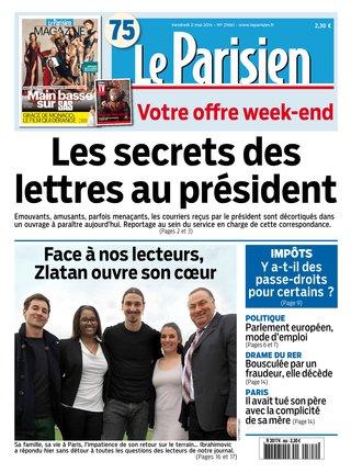 Sandrine Campese lettres au Président une Parisien 2 mai 2014