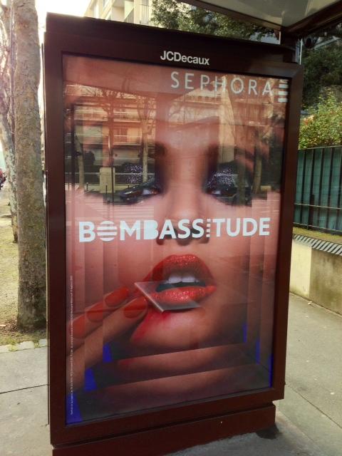 affiche pub sephora bombassitude