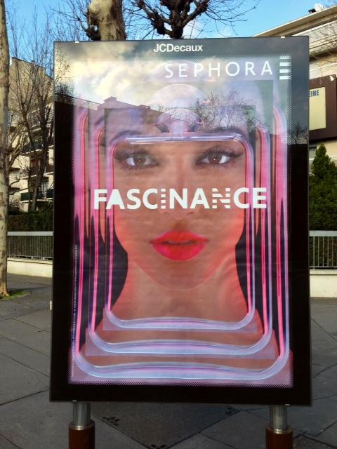 affiche pub sephora fascinance