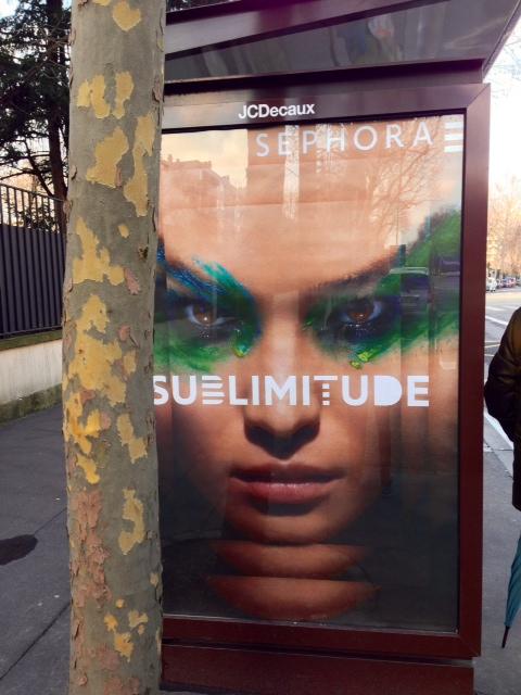 affiche pub sephora sublimitude