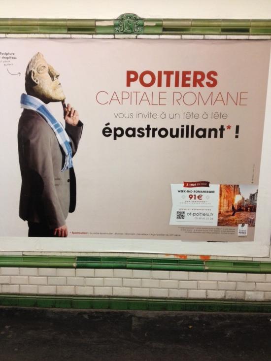 Poitiers capitale romane epastrouillant