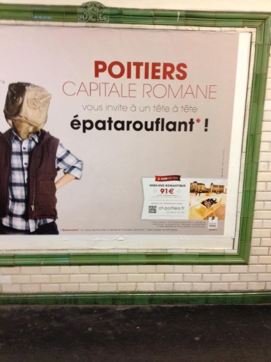 Poitiers capitale romane epatarouflant