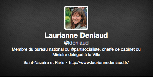 Compte Twitter Laurianne
