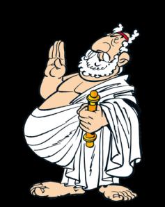 personnage grec dans asterix