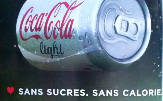 Pub Coca Cola Light Sans Sucres Sans Calorie