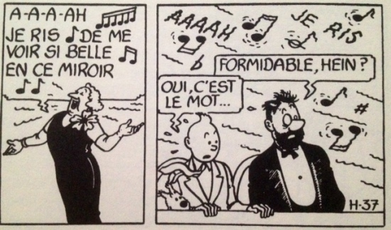 Vignette Tintin Formidable 1